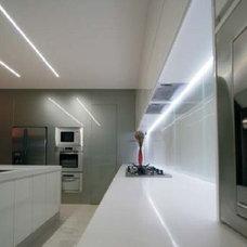 Modern Undercabinet Lighting by Flexfire LEDs