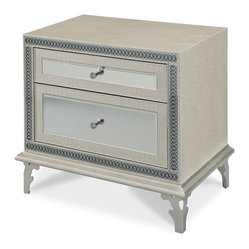 Hollywood Swank Upholstered Nightstand