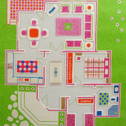 IVI Play Carpets - Playhouse Green