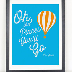 Oh the Places You'll Go Print - Dr. Seuss - 11x17 Print
