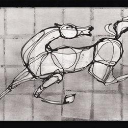 Amanti Art - Sebastian Alterera 'Stallion' Framed Art Print 41 x 29-inch - Horse art