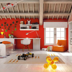 Macral Design. Kids and young bedroom - Composition Nº 1