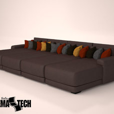 Modern Sofas by CinemaTech Theater Seating, Design & Acoustics
