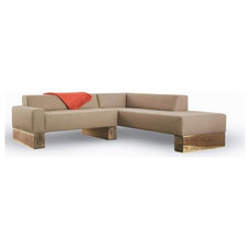 contemporary sectional sofas by Burke Decor