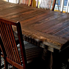 Rustic Dining Tables by Reclaimed Wood, Inc.