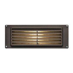 Hinkley Lighting - Hinkley Lighting 1594BZ Bronze Landscape Deck/Step Light - C-US Wet Rated, 1, 12W T5 Wedge, Bulb Included