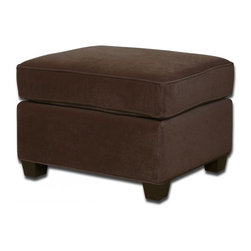 www.essentialsinside.com: burleigh velvet ottoman - Burleigh Velvet Ottoman by Uttermost, available at www.essentialsinside.com