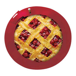 Chicago Metallic - Chicago Metallic Baking Essentials Pie Crust Protector - You care about your baked goods down to the last detail. So rely on this silicone crust protector to prevent those embarrassing burnt edges — you'll pull out to-die-for pie every time.