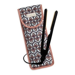 cinda b - cinda b Flat Iron/ Curling Iron Cover, Neptune - No need to wait around for a hot iron to cool down when you're packing in a hurry. Our cinda b Neptune Flat Iron/ Curling Iron Covers's heat-resistant lining makes it a safe bet. And it's sized to fit most of today's hair appliances and stow their cords neatly. This is the perfect accessory for your travel bags.