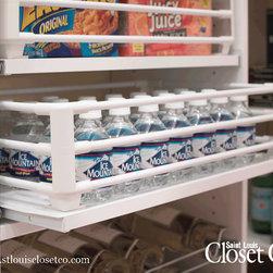 Saint Louis Closet Co. Accessories - Basket-Rimmed Shelves.  Saint Louis Closet Co.
