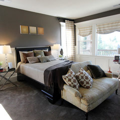 contemporary bedroom by Stiles | Fischer Interior Design