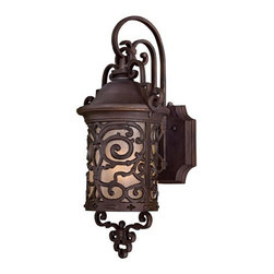 "The Great Outdoors - The Great Outdoors GO 9192-PL 1 Light 22.5"" Height Outdoor Wall Sconce - Single Light 22.5"" Height Outdoor Wall Sconce from the Chelesa Road CollectionFeatures:"