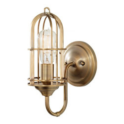 Murray Feiss - Murray Feiss Urban Renewal Transitional Wall Sconce X-BAD3071BW - Murray Feiss Urban Renewal Transitional Wall Sconce X-BAD3071BW