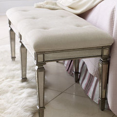 traditional bedroom benches by Horchow