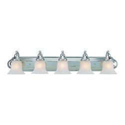 Dolan Designs - Dolan Designs 470-26 Richland 5Lt Bath Chrome - Dolan Designs 470-26 Richland 5Lt Bath Chrome