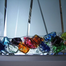 Contemporary Screens And Wall Dividers by Glassworks, Inc.