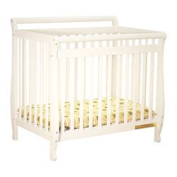 AFG Baby - AFG Baby Mini Amy Crib in White - Taking cues from the Amy full-size crib to offer a portable version, the Mini Amy Crib is the choice for your little one. The fine craftsmanship combines function and style. Simple, clean lines and a variety of classic finishes allow the mini Amy to complement your other home furnishings. A 1-inch mattress pad is included for your child��_��s comfort and a 4-level adjustable mattress support lets you adapt to your child��_��s growth. Choose the Mini Amy to fill your limited space or if you just want a portable crib that is stylish and durable.