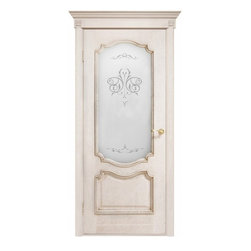 Interior Doors - Solid white oak interior door with glass. Can be installed as double or single door. Different sizes available. Recommended use: Dining Room, Living Room, Bedroom.Please note, this is a pre-order door. Minimum quantity is 5 doors per order. Delivery time is within 4 weeks.