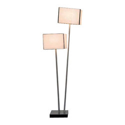 """Arturo Alvarez - Arturo Alvarez Doscubos table lamp - The Doscubos table lamp from Arturo Alvarez was designed by Arturo Alvarez and made in Spain. The Doscubos table lamp is a minimal shape that is extremely simple, created with materials of high quality that yield a functional result where less is more. A collection to decorate with, in a fresh and natural way.   Products description: The Doscubos table lamp from Arturo Alvarez was designed by Arturo Alvarez and made in Spain. The Doscubos table lamp is a minimal shape that is extremely simple, created with materials of high quality that yield a functional result where less is more. A collection to decorate with, in a fresh and natural way. Details:                         Manufacturer:                         Arturo Alvarez                                         Designer:                         Arturo Alvarez - 2000                                         Made  in:            Spain                            Dimensions:                         Height: 23.75"""" (60.3cm) X Width: 10"""" (25.4cm)                                                     Light bulb:                                      2 X 40W G9 Bi-Pin                                         Material                         Metal, glass"""