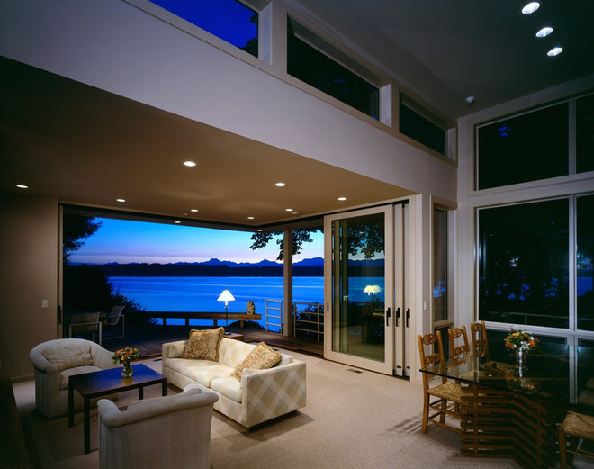 Contemporary Interior Doors by Quantum Windows & Doors, Inc.