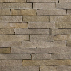 Contemporary Tile by The Quarry Mill Natural Stone Veneer