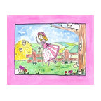 Oh How Cute Kids by Serena Bowman - Little Bo Peep, Ready To Hang Canvas Kid's Wall Decor, 20 X 24 - Little Bo Peep, this one is one of my favorites because I love sheep!  Part of my Fairy Nursery Rhymes series. I have several in the series for boy and girls!  Each are sold separately but coordinates with everything in the series for an easy fun room decor!