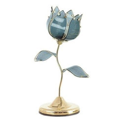 OK LIGHTING - Gold Table Lamp: 20 in. Gold Tulip Touch Table Lamp OK-812BA - Shop for Lighting & Fans at The Home Depot. 20 in. Floral table touch lamp with black glass panels. This charming polished brass lamp features a shade made of metal. It's for any of room. This pretty touch lamp design offers a wonderful room accent. Simply touch the brass finish base to turn the lamp on and off.