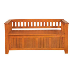 """Simpli Home - Acadian 48 inch wide Entryway Bench in Light Avalon Brown - You want to make a good first impression...we get that. We designed the Acadian Storage Bench with exactly this in mind. This stylish bench allows your inner designer to shine through while creating added storage and seating for your entryway or mudroom. """"Form follows function"""" design rules apply here as the bench features a convenient flip up lid allowing for easy retrieval of articles from the dual storage compartment below."""