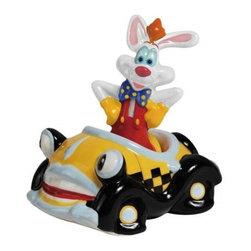 Westland - 4 Inch Roger Rabbit in Car Multi-Colored Salt and Pepper Shakers - This gorgeous 4 Inch Roger Rabbit in Car Multi-Colored Salt and Pepper Shakers has the finest details and highest quality you will find anywhere! 4 Inch Roger Rabbit in Car Multi-Colored Salt and Pepper Shakers is truly remarkable.