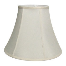 Home Concept - Egg Shell Shantung Bell Lampshade 9x18x13.5 - Why Upgrade to Home Concept Signature Shades?