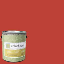 Inspired Semi-Gloss Interior Paint, Petal .06, Gallon - Colorhouse paints are zero VOC, low-odor, Green Wise Gold certified and have superior coverage and durability. Our artist-crafted colors are designed to be easy backdrops for living. Colorhouse paints are 100% acrylic with no VOCs (volatile organic compounds), no toxic fumes/HAPs-free, no reproductive toxins, and no chemical solvents.