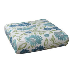Fifthroom - Sunbrella Classic Terrace Seat Cushion - Sunbrella fabric is beautiful and durable. Even mildew is no match for Sunbrella! This easily maintained fabric allows you to relax and enjoy.  Choose from a variety of colors and patterns to fill your relaxation oasis.