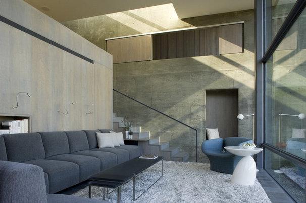 Modern Living Room by Elliott Kaufman