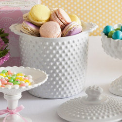 Rosanna Les Cookies Cookie Jar - A cookie jar filled with homemade baked goods doubles as a hostess gift and dessert!