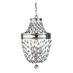 "Murray Feiss - Murray Feiss F2812/3 Malia 12.3"" Diameter 3 Light Mini Chandelier - Features:"
