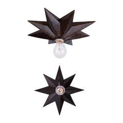 Crystorama 9230-EB English Bronze Flush Mount Astro Collection -