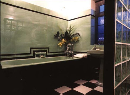Traditional Bathroom by Adrienne Chinn