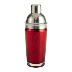 Metallic Red Cocktail Shaker - I love this for shaking cocktails.