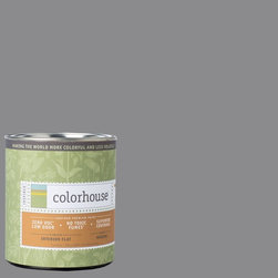 Inspired Flat Interior Paint, Wool .04, Quart - Colorhouse paints are zero VOC, low-odor, Green Wise Gold certified and have superior coverage and durability. Our artist-crafted colors are designed to be easy backdrops for living. Colorhouse paints are 100% acrylic with no VOCs (volatile organic compounds), no toxic fumes/HAPs-free, no reproductive toxins, and no chemical solvents.