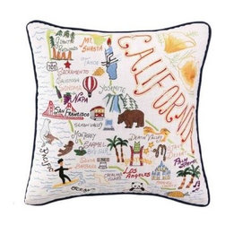 California State Pillow - Clayton Gray Home -