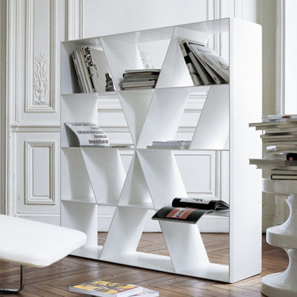 Contemporary Bookcases by Mac&Mac