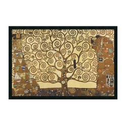 The Tree of Life, 1905-1911 Framed Wall Art by Gustav Klimt - 37.41W x 25.41