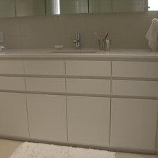Modern Bathroom by Principe Builders, Inc.