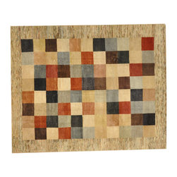1800GetARug - Hand Knotted Rug Modern Gabbeh With Art Deco Design Sh3680 - About Tribal & Geometric