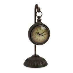 IMAX CORPORATION - Manfredi Hanging Clock - Manfred Hanging Clock. Find home furnishings, decor, and accessories from Posh Urban Furnishings. Beautiful, stylish furniture and decor that will brighten your home instantly. Shop modern, traditional, vintage, and world designs.