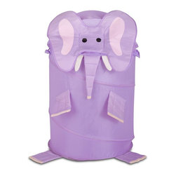 Honey Can Do - Honey Can Do Large Kids Pop-Up Hamper - Elephant Multicolor - HMP-02061 - Shop for Hampers from Hayneedle.com! About Honey-Can-DoHeadquartered in Chicago Honey-Can-Do is dedicated to helping you organize your life. They understand that you need storage solutions that are stylish and affordable at the same time. Honey-Can-Do focuses on current design trends and colors to create products that fit your decor tastes while simultaneously concentrating on exceptional quality. When buying a Honey-Can-Do product you can be sure you are purchasing a piece that has met safety control standards and social compliance methods.