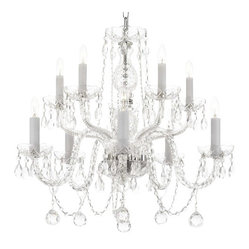 ALL CRYSTAL CHANDELIER LIGHTING CHANDELIERS WITH 40MM CRYSTAL BALLS!