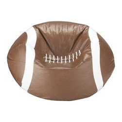 Ace Bayou Beanbag Chair, Matte Brown - I bought this for my son, and I love it in his room. And he actually uses it!