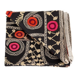 Vintage Suzani Throw   Jayson Home & Garden - These unique vintage suzani throws are just beautiful and truly complete a room. Accessories are tough, they are hard to make ourselves buy, but they are what make a home personal and emotional.
