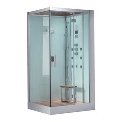 Ariel - Ariel Platinum DZ960F8 R Steam Shower 39.3x35.4x89.2 - These fully loaded steam showers include massage jets, ceiling & handheld showerheads, chromotherapy, aromatherapy and built in radios to help maximize the therapeutic experience